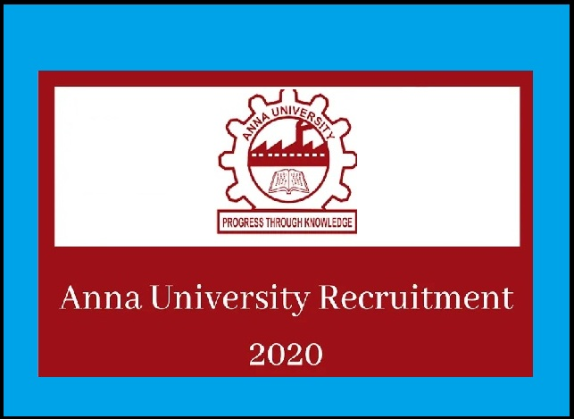 Anna University Counselor Recruitment 2020 Out- Download Notification PDF!!