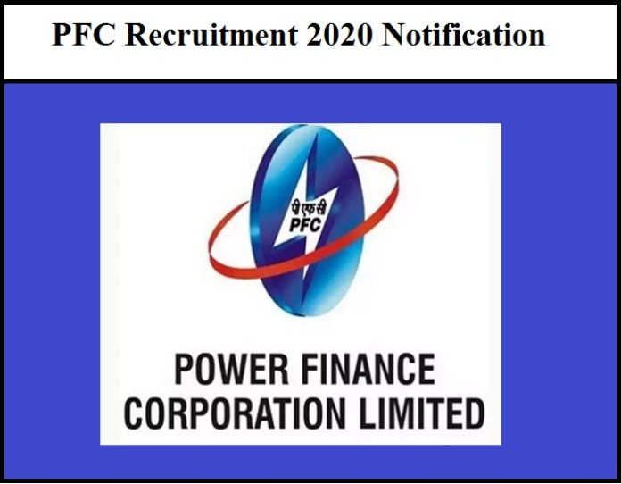 PFC Recruitment 2020 Out Notification