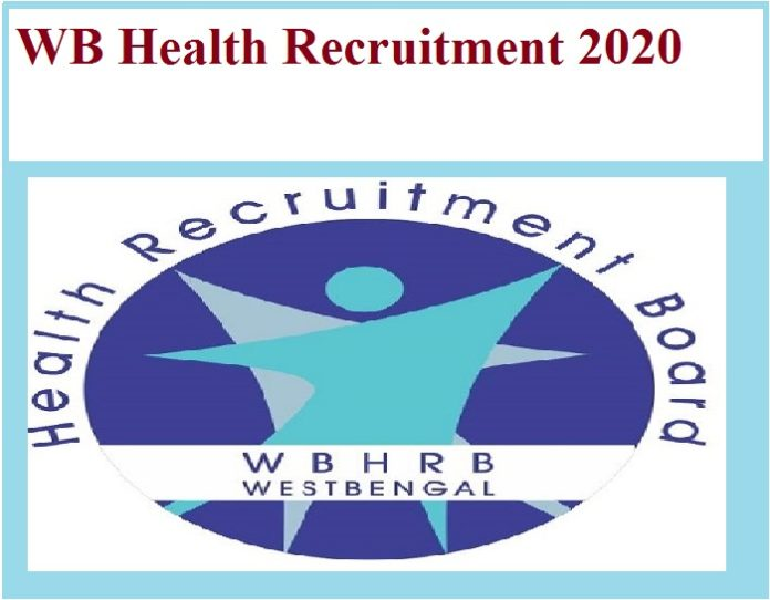 WB Health Recruitment 2020 Out - Pharmacist & Other Vacancies!!