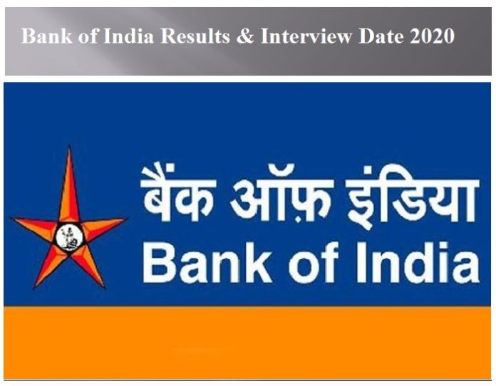 Bank of India Results 2020
