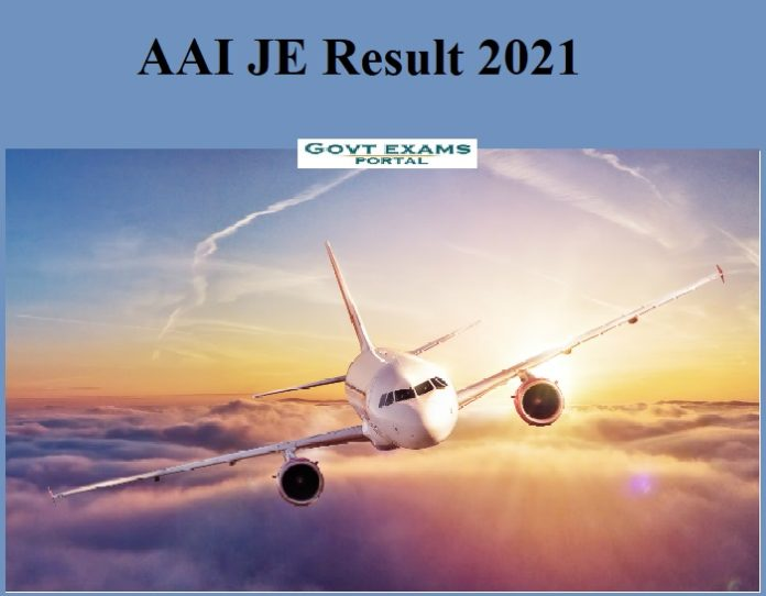 AAI JE Result 2021 Out – Download Provision List & Cut Off Here!!!