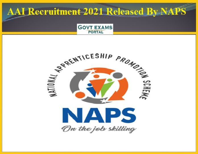 AAI Recruitment 2021 Released By NAPS