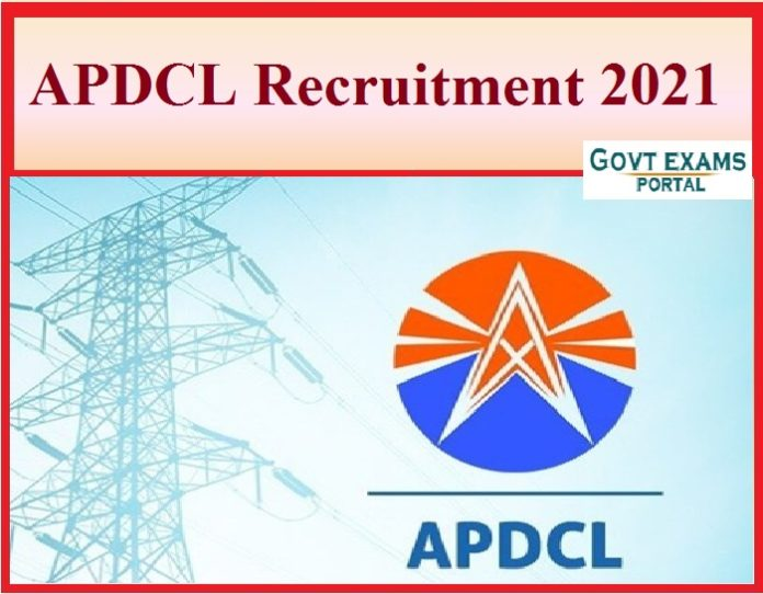 APDCL Recruitment 2021