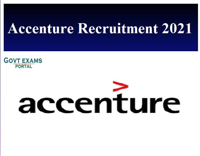 Accenture Recruitment 2021