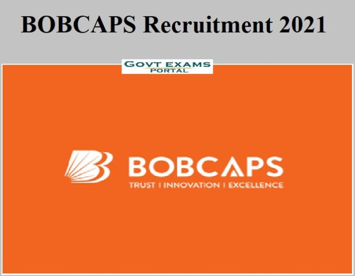 BOBCAPS Recruitment 2021