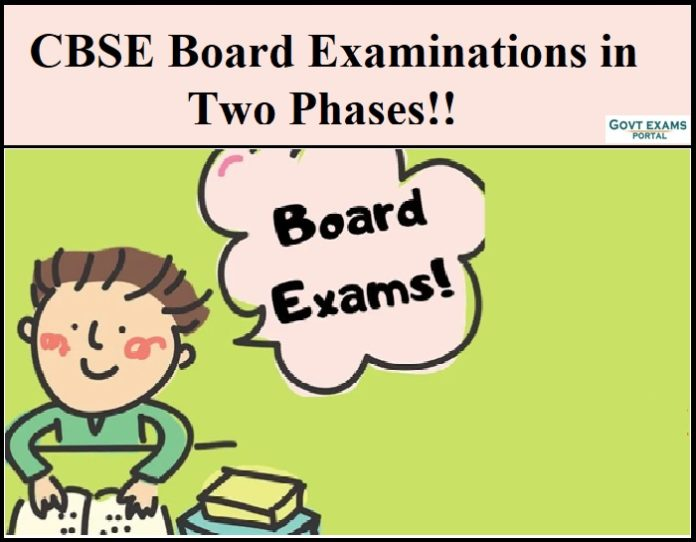 CBSE Board Examinations in Two Phases!!