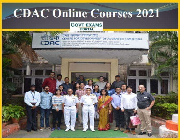 CDAC Online Courses 2021