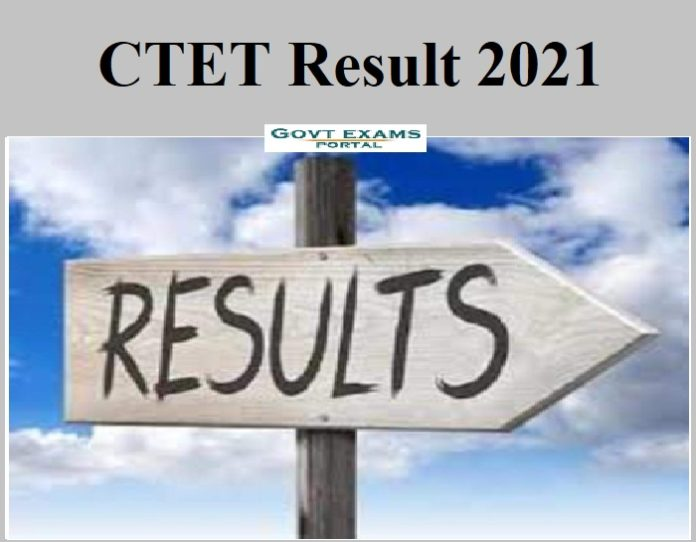 CTET Result 2021 Out – Check Score Here!!!!