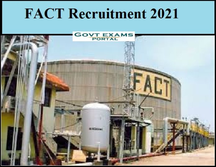 FACT Recruitment 2021