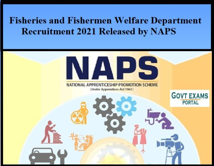 Fisheries and Fishermen Welfare Department Recruitment 2021 Released by NAPS