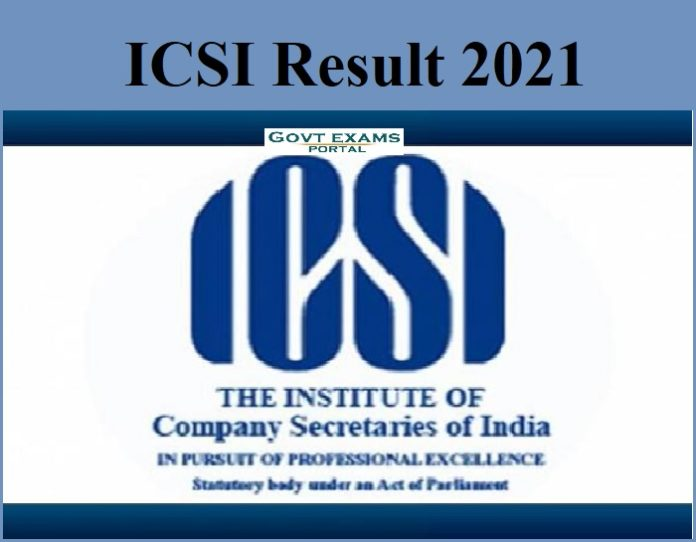 ICSI Result 2021- CS Professional Programme || Check Result Date Here!!!