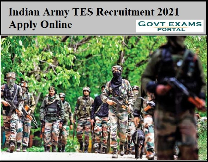 Indian Army TES Recruitment 2021 Apply Online