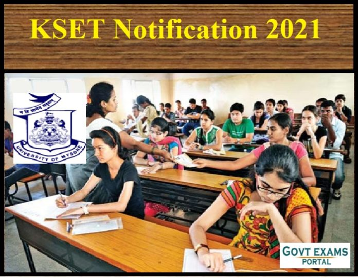 KSET Notification 2021
