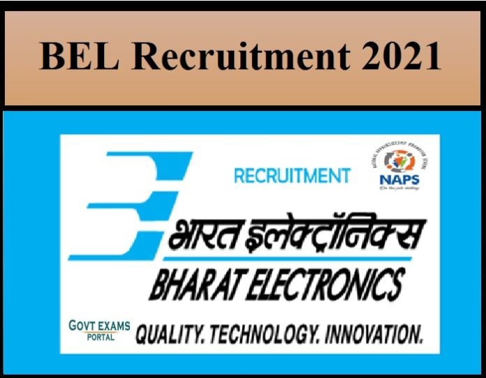 NAPS Released BEL Recruitment 2021