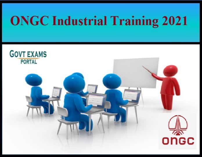 ONGC Industrial Training 2021