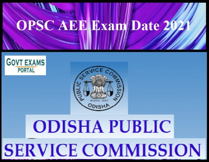 OPSC AEE Exam Date 2021