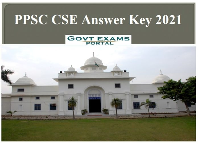 PPSC CSE Answer Key 2021