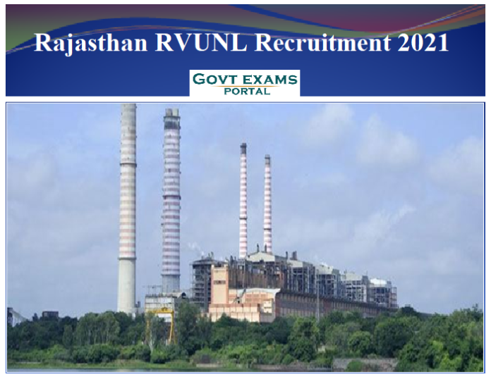 Rajasthan RVUNL Recruitment 2021