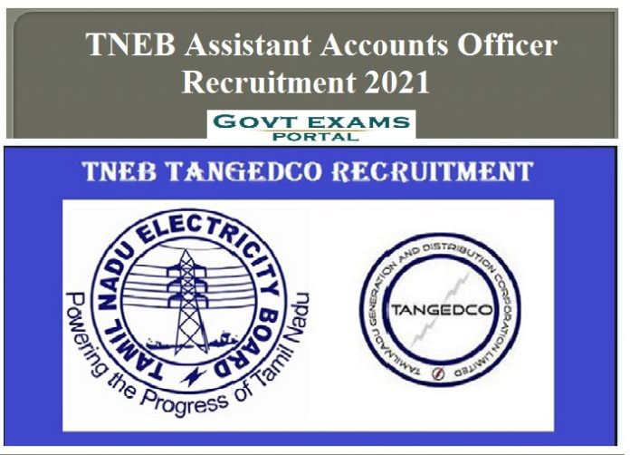 TNEB Assistant Accounts Officer Recruitment 2021