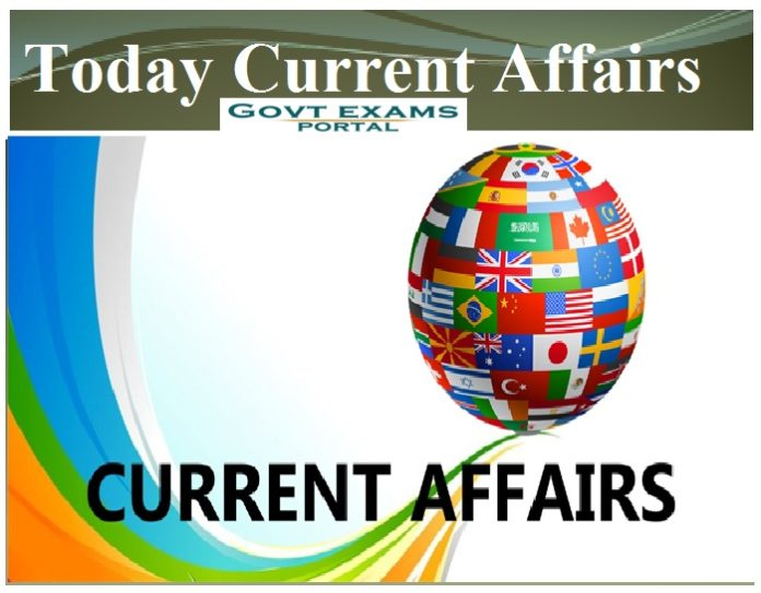 Today Current Affairs