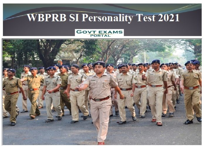 WBPRB SI Personality Test 2021