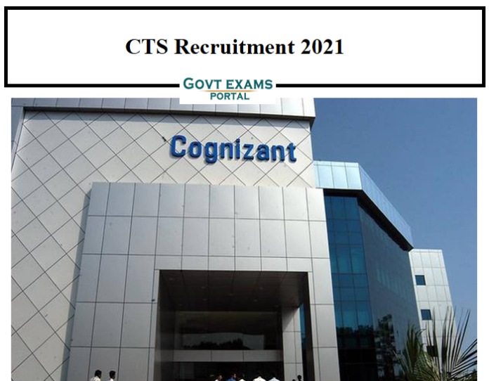 CTS IOT Engineer Recruitment 2021 OUT