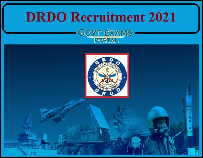 DRDO Recruitment 2021 Out- Apply For JRF Now!!!