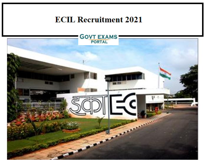 ECIL Technical Officer Recruitment 2021 OUT technical officer