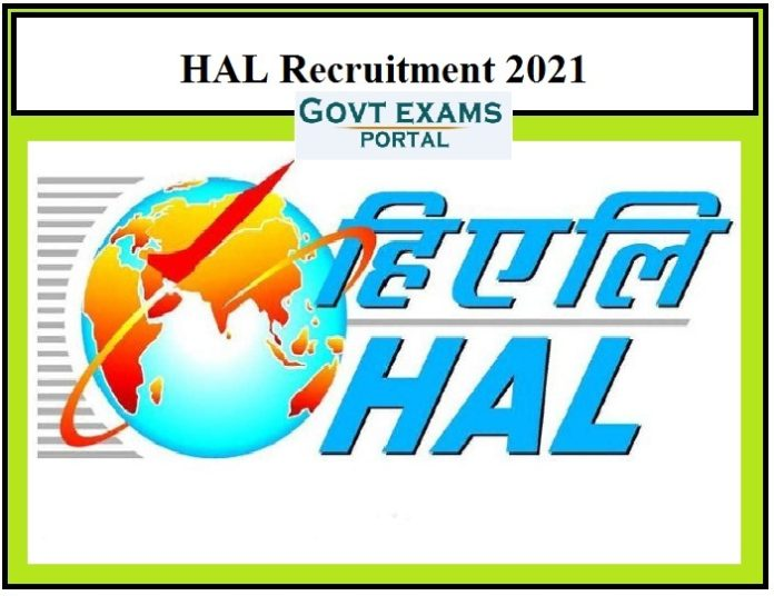 HAL Recruitment 2021 – Application Process Closes Soon Check Details Here!!!