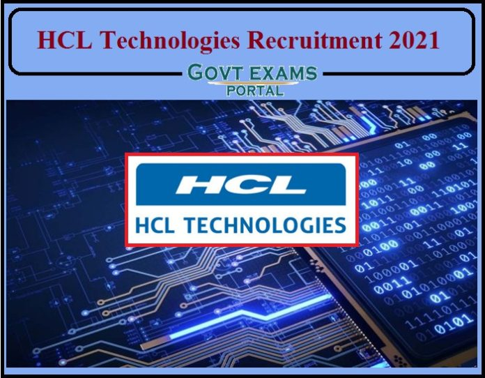 HCL Technologies Recruitment 2021 Released- Apply for Associate Support Specialist Job Openings!!!