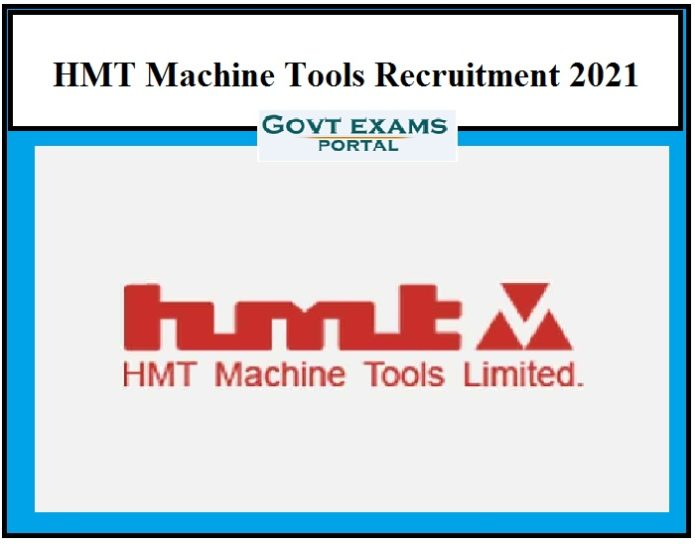 HMT Machine Tools Recruitment 2021 OUT Check HMT Limited Best Career Opportunities!!!
