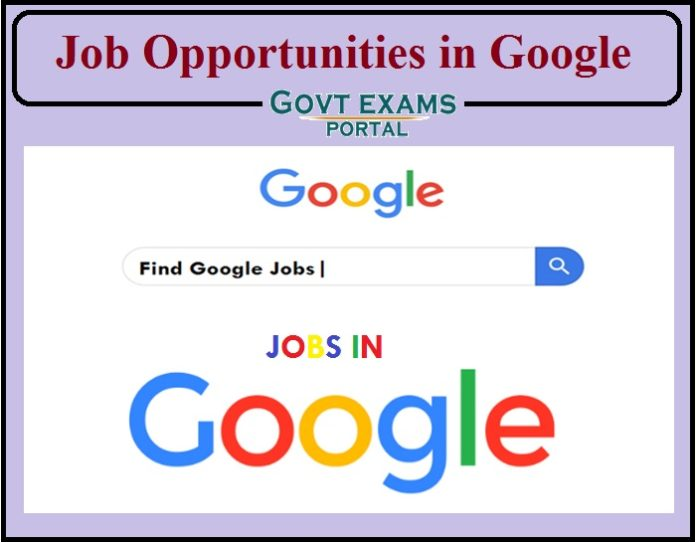 Job Opportunities in Google- Bachelor's Degree Can Apply!!!!