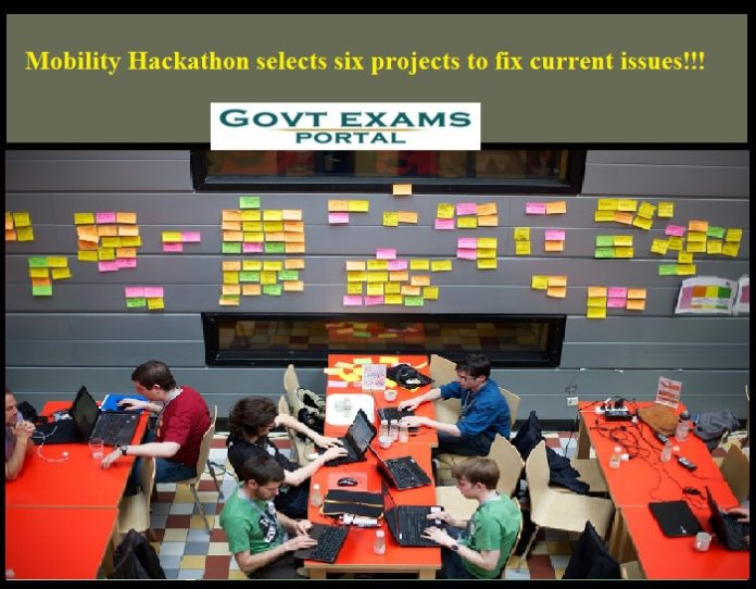 Mobility Hackathon selects six projects to fix current issues!!!