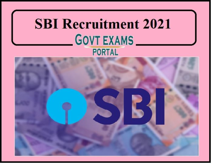 SBI Recruitment 2021 Out -