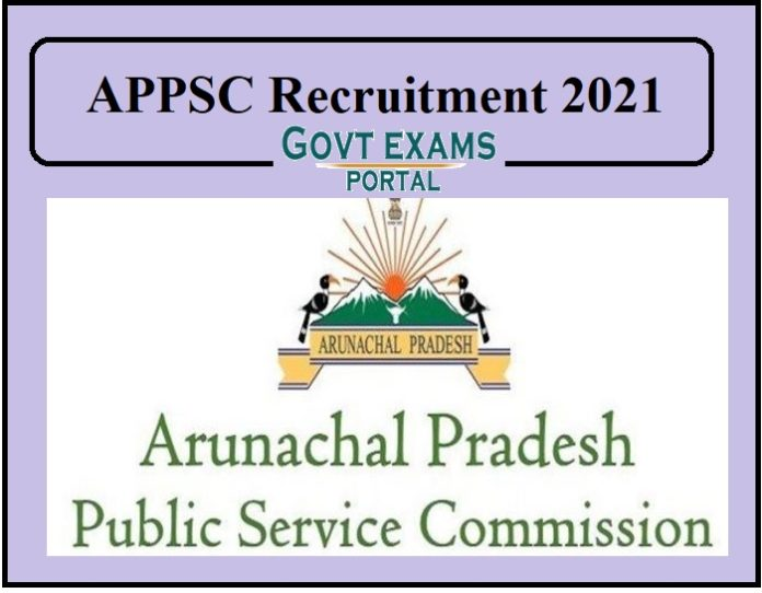 APPSC Recruitment 2021....