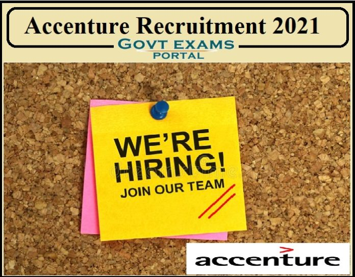 Accenture Business and Integration Architect Recruitment 2021