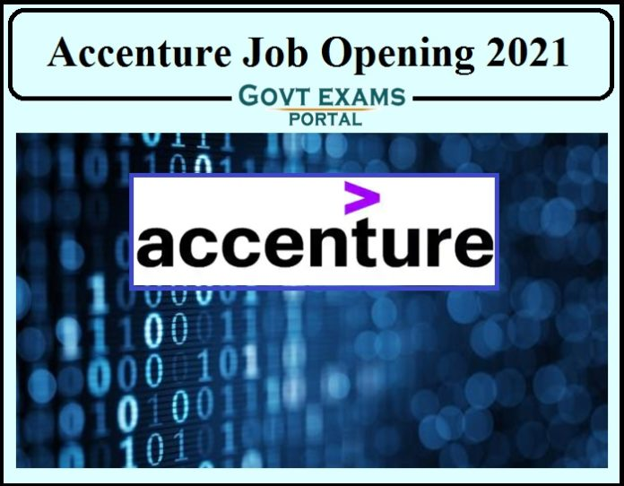 Accenture Job Opening 2021- Direct Link to Apply!!!