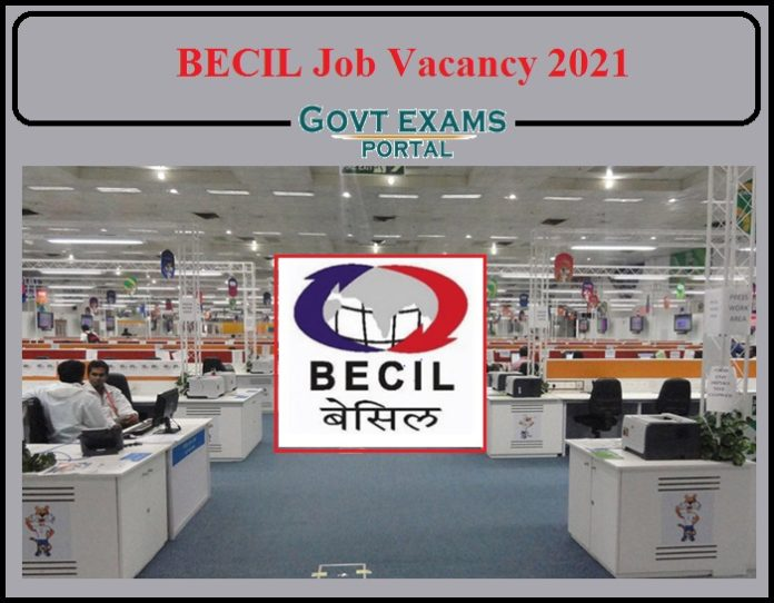 BECIL Job Vacancy 2021 Notification Released- Check Skilled, Semi Skilled & Unskilled Man Power Training Details!!!