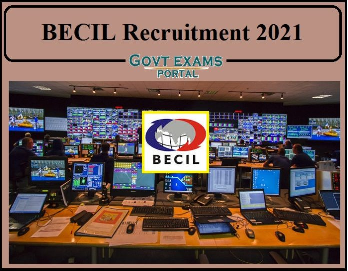 BECIL Recruitment 2021 Notification Released- Apply Online Now!!!