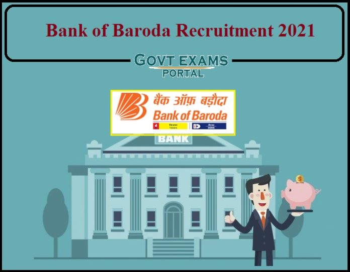 Bank of Baroda Recruitment 2021 Notification Released- Download Application PDF Here!!!