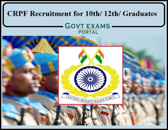 CRPF Recruitment 2021