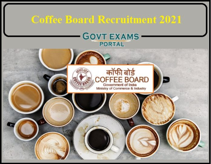 Coffee Board Recruitment 2021 Released- Download Notification Here!!!