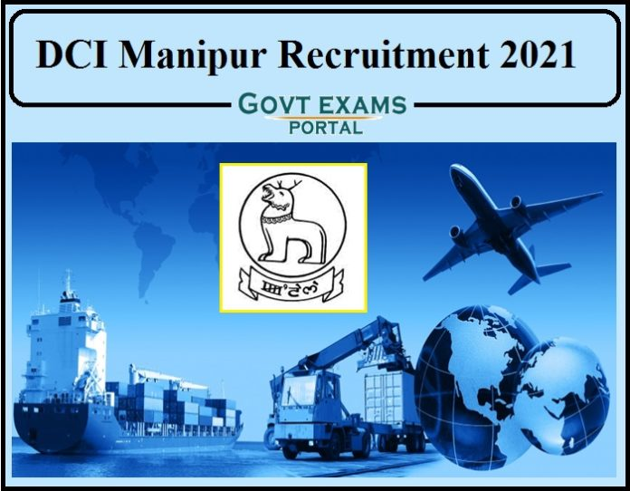 DCI Manipur Recruitment 2021 Notification Released- Download Application