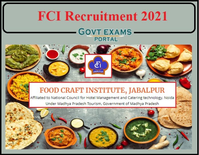 FCI Recruitment 2021 Notification PDF Released- Apply Now!!!