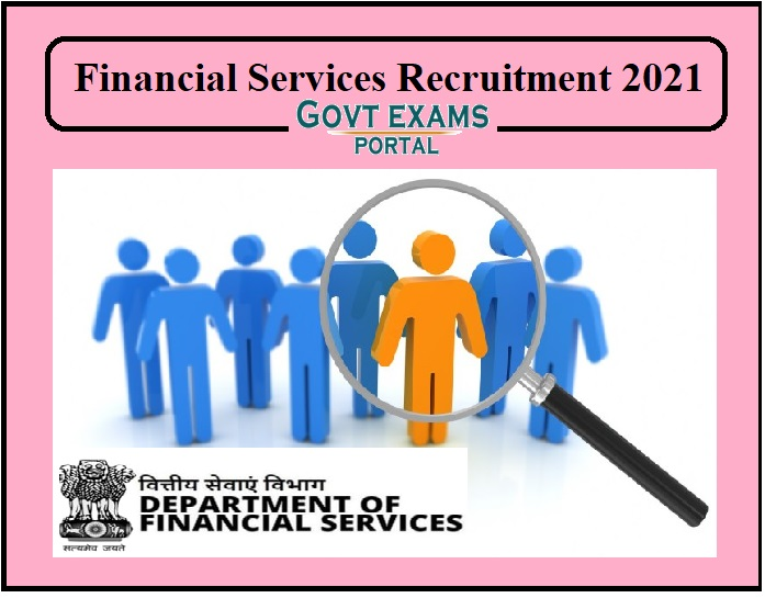 Financial Services Recruitment 2021