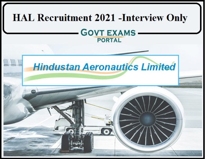 HAL Recruitment 2021 Notification PDF Released- Apply for Part Time Job