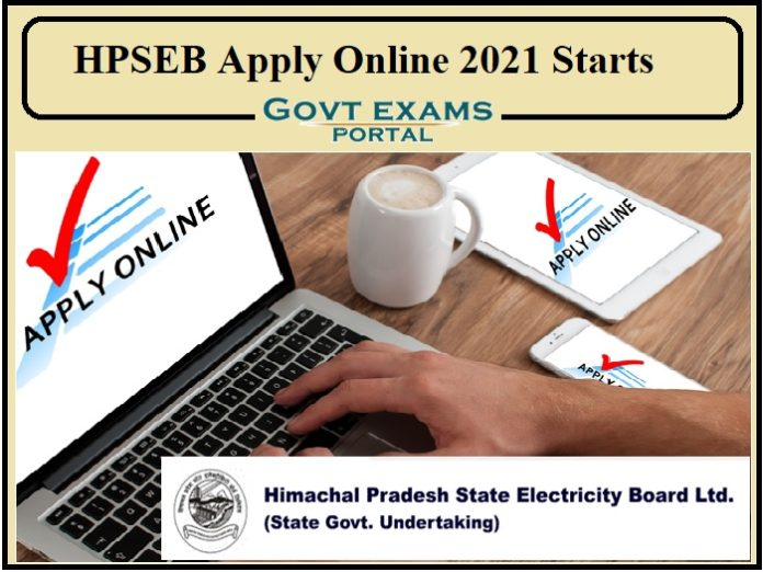 HPSEB Apply Online 2021 Starts Today