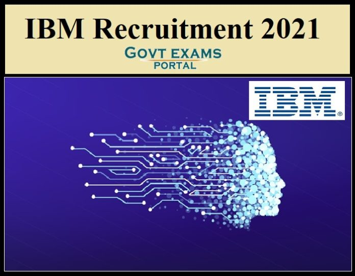 IBM DBA Recruitment 2021