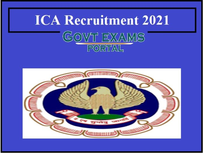 ICAI Joint Director Recruitment 2021