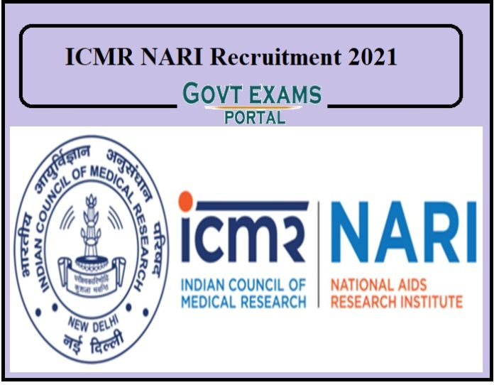 ICMR NARI Recruitment 2021 Released
